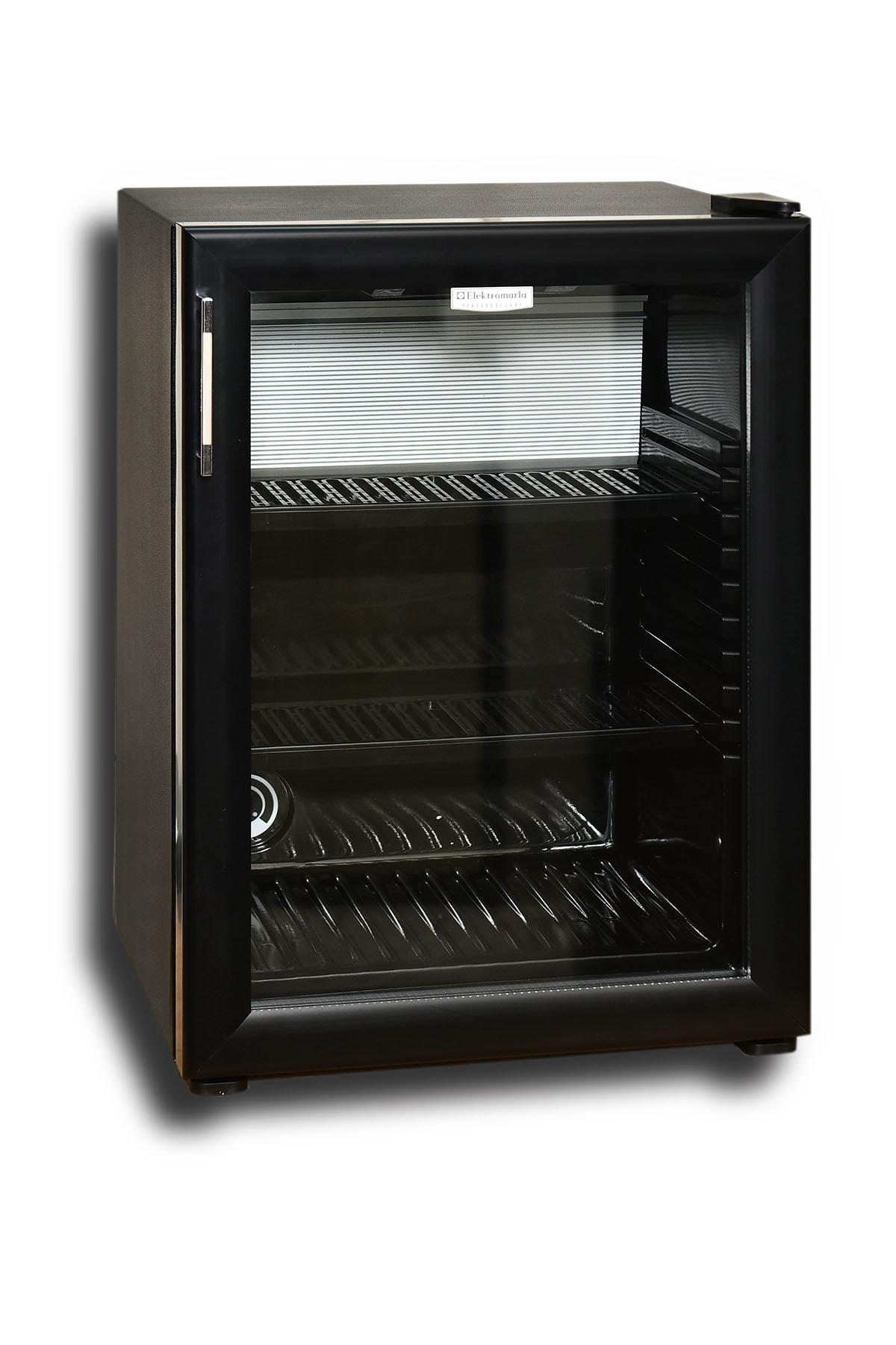 Elektromarla 35 Litre Cam Kapılı Minibar - Black Edition 1