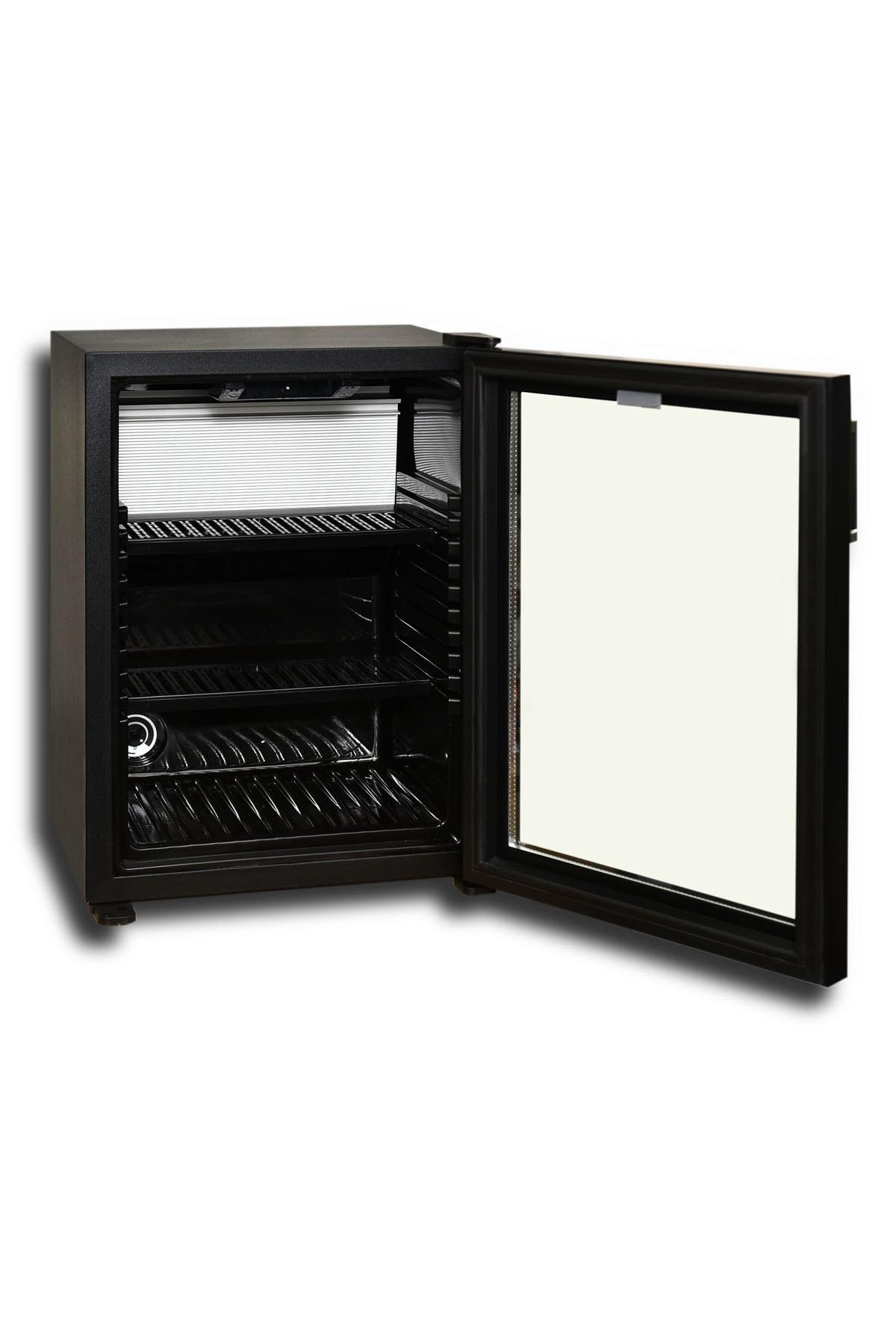 Elektromarla 35 Litre Cam Kapılı Minibar - Black Edition 2
