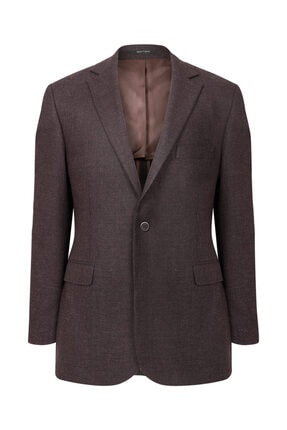 W Collection Bordo Mıcro Desen Ceket