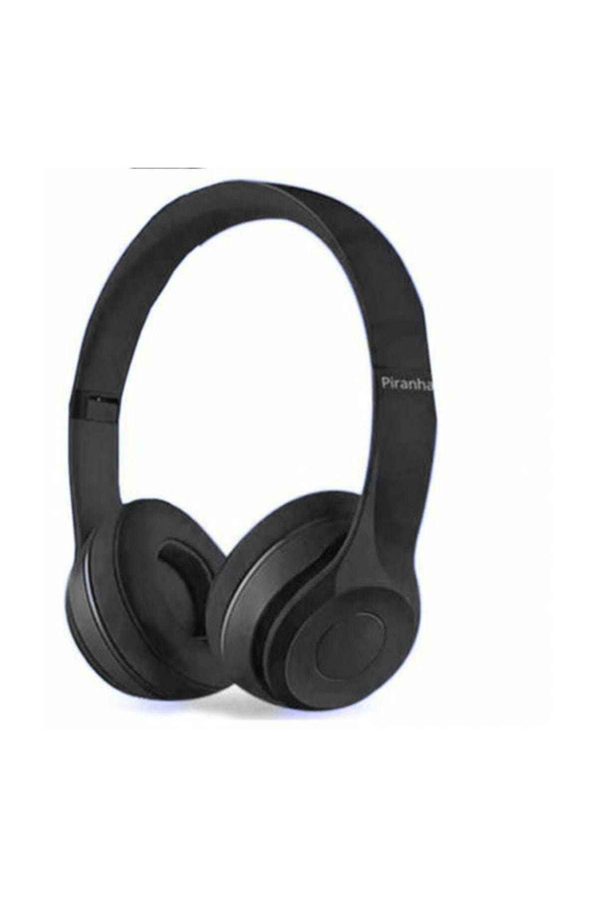 Piranha Kablosuz Kulaklık Siyah 2201 Bt 1