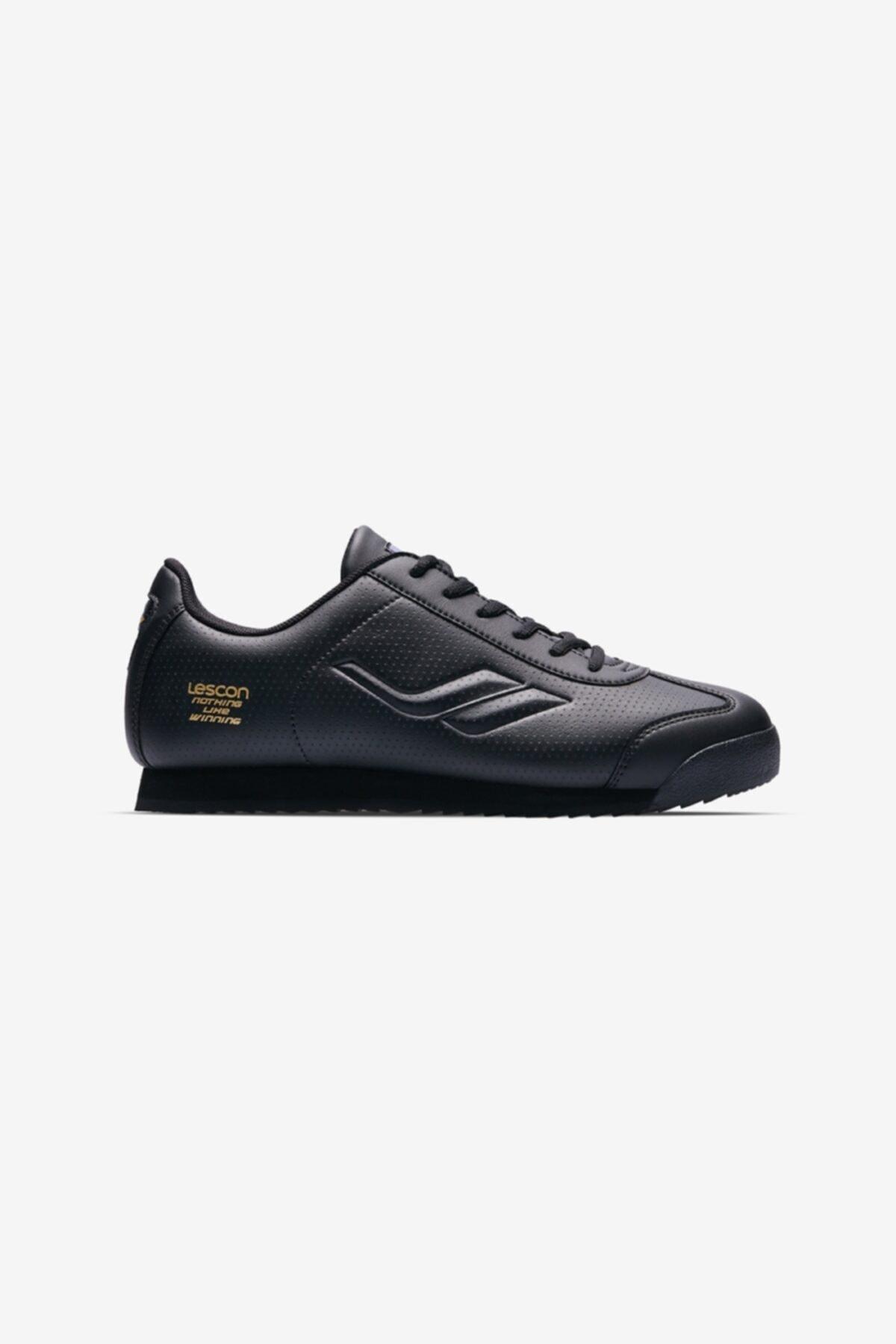 Lescon Winner Bayan Sneaker Ayakkabı Siyah 1