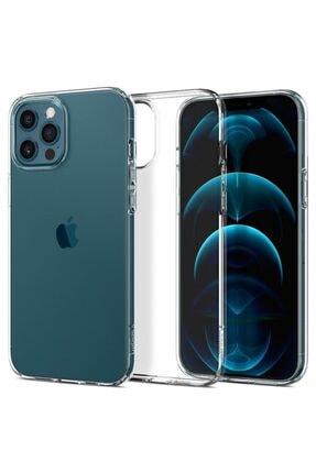 Spigen Iphone 12 Pro Max Kılıf, Liquid Crystal 4 Tarafı Tam Koruma