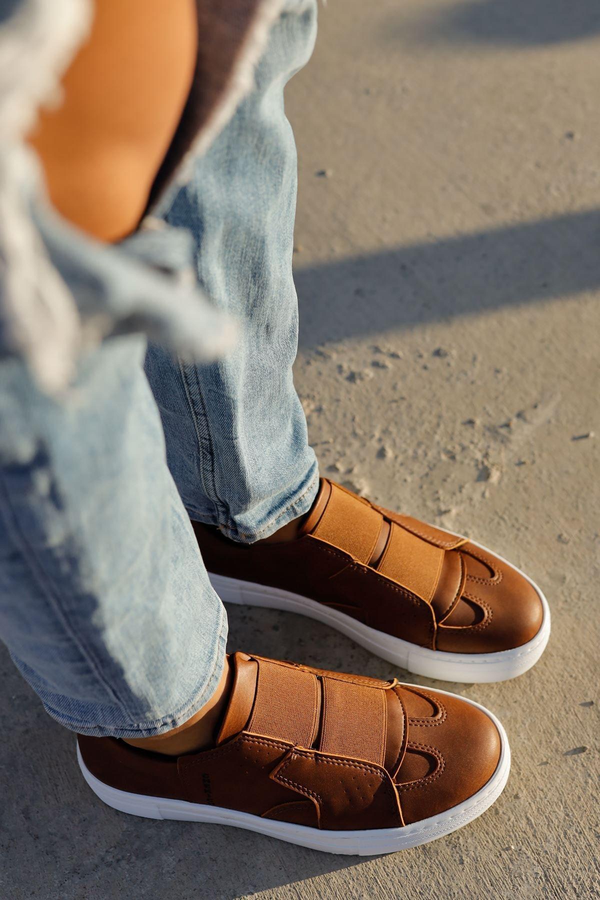 Chekich Ch033 Bt Kadın Ayakkabı Taba 1