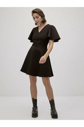 LC Waikiki Kadın Siyah  Elbise