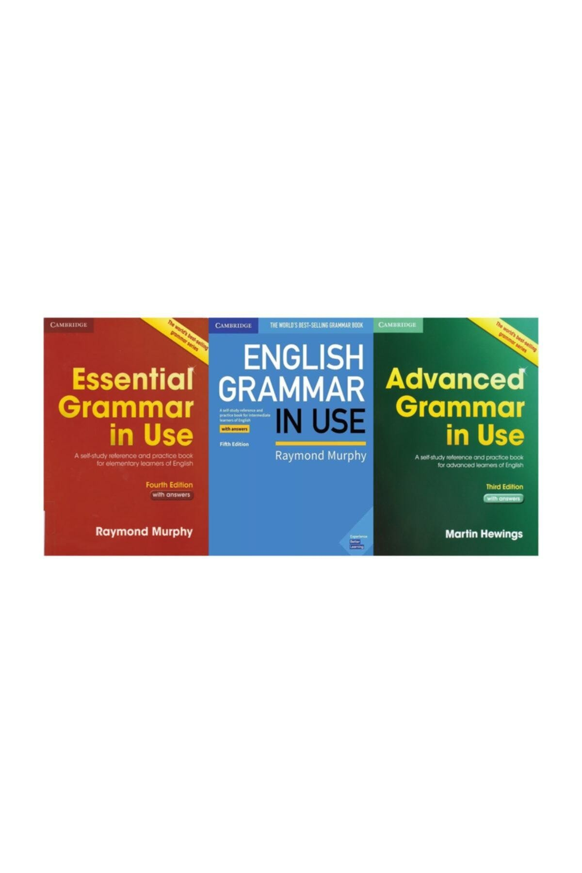 Cambridge University Press Grammar In Use 3'lü Set 1