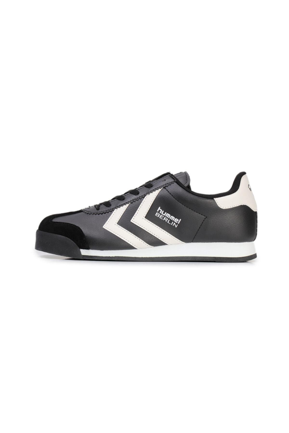 HUMMEL Berlin Sneaker Siyah Gri Erkek Sneaker Ayakkabı 100433126 1