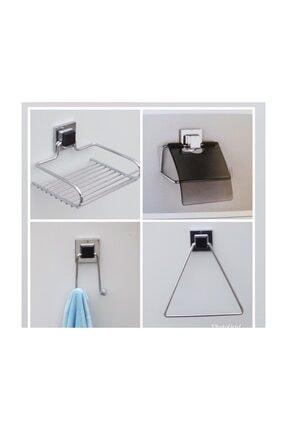 Hagen Güçlü Yapişma Banyo Seti 4 Ürün