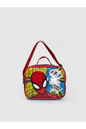 LC Waikiki Spiderman Erkek Çocuk Kırmızı Csg Beslenme Çantası
