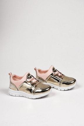 Weynes Kız Çocuk Pudra Şeritli Spor Ayakkabı Ba18004