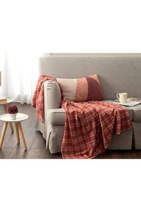 English Home Check Polar Tv Battaniye 120x170 Cm Gül Kurusu