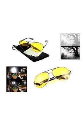 vebura Metal Çerçeveli Anti Far Gece Görüş Gözlüğü (Damla Modeli)