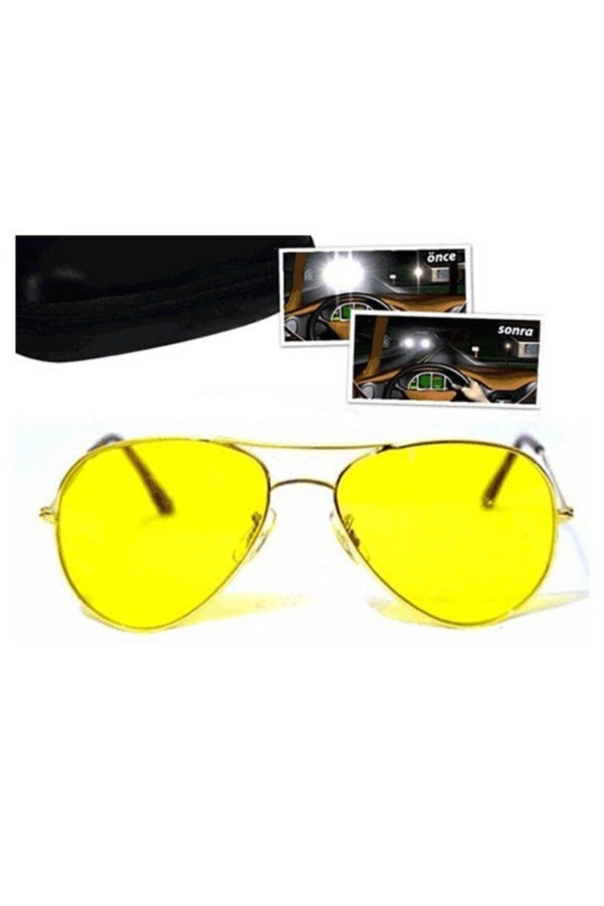 vebura Metal Çerçeveli Anti Far Gece Görüş Gözlüğü (Damla Modeli) 2