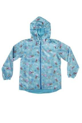 Disney Frozen Frozen Kız Çocuk Yağmurluk Mavi