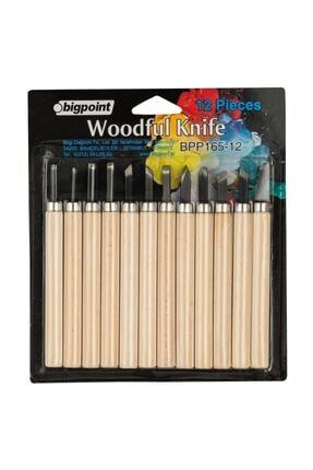Bigpoint Ahşap Oyma 12'li Set (Woodful/graver Knife)