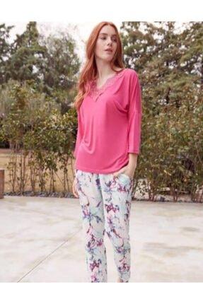 Haluk Bayram Baha 3551 Kadın Pijama Takımı Truvakar Kol
