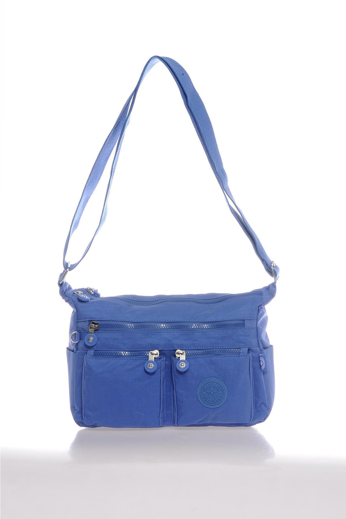 SMART BAGS Smb3065-0031 Mavi Kadın Çapraz Çanta 1