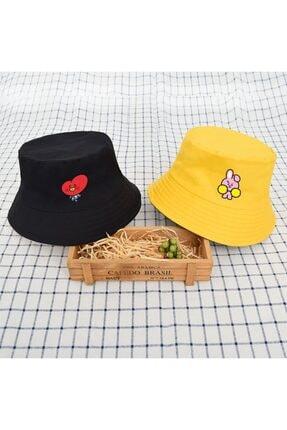 Köstebek Bt21 Cooky Bucket Şapka