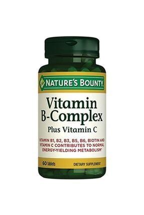 Nature's Bounty Vitamin B-complex Plus Vitamin C 60 Tablet