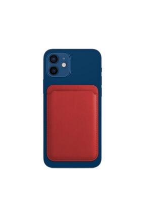 Deilmi Apple Iphone 12 /12 Mini / 12 Pro / Pro Max Magsafe Özellikli Kartlık Cüzdan Magsafekartlık