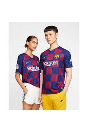 Nike Unisex Mavi Bordo F.c. Barcelona 2019/20 İç Saha Forması Aj5532-456