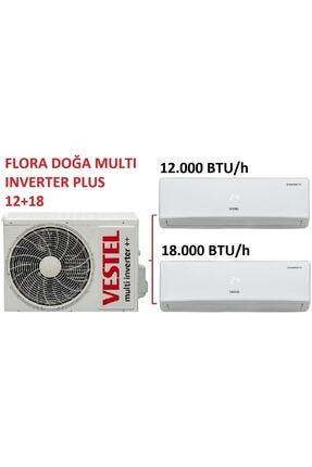 Vestel Flora Doğa Multi Inverter Plus 12+18 Klima