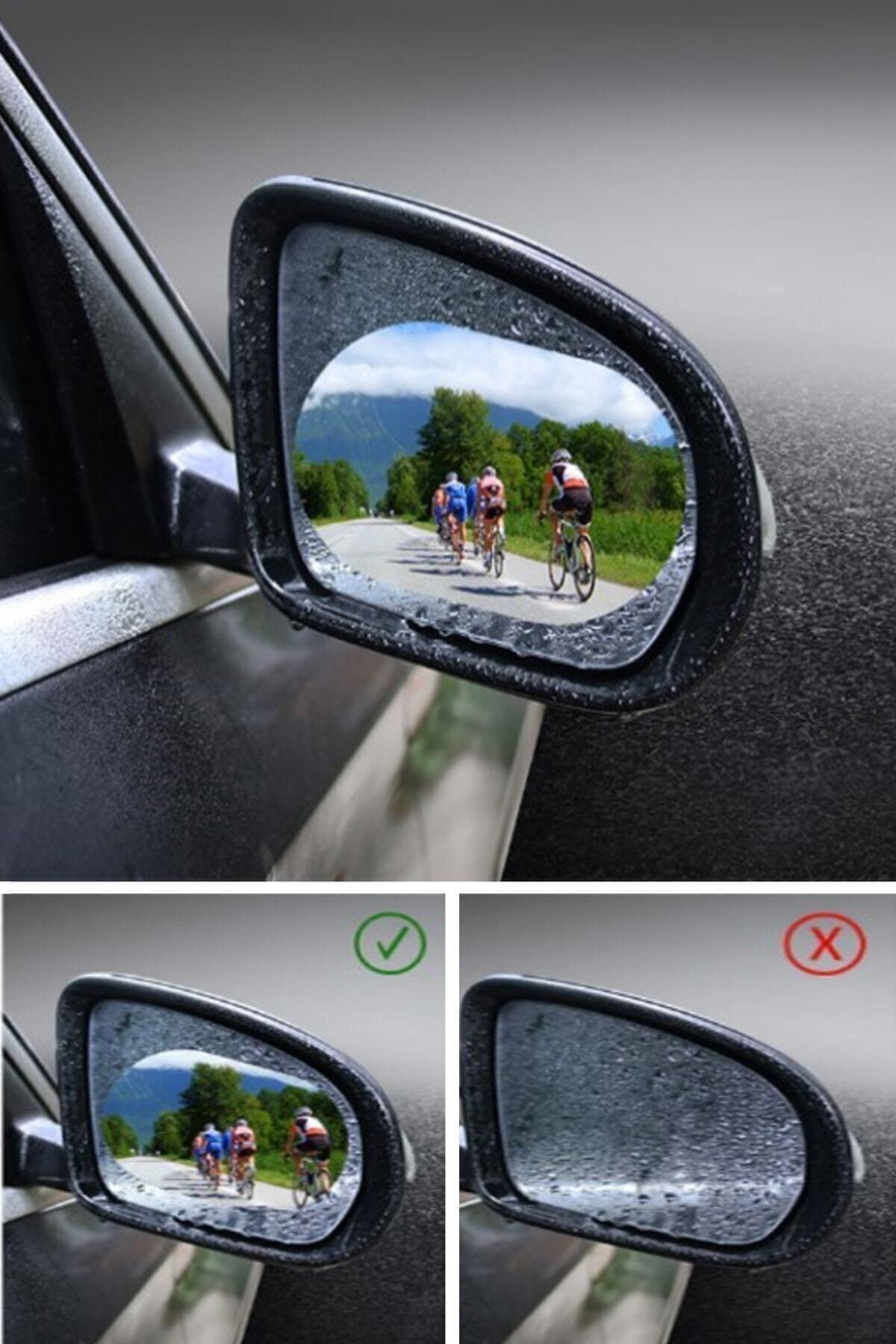 İndirimKap Oto Dış Ayna Yağmur Tutmaz Kaydırıcı Film 2 Adet (Sağ/sol) 1