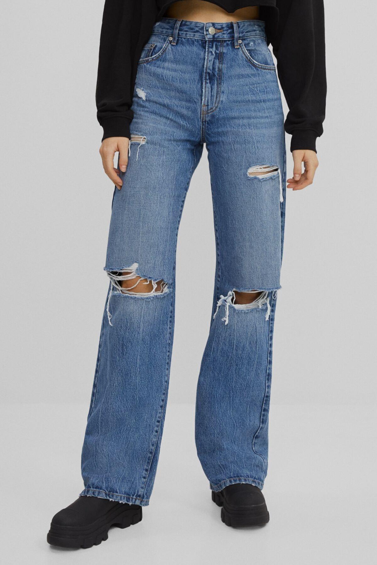Bershka Wide Leg 90's Jean 1