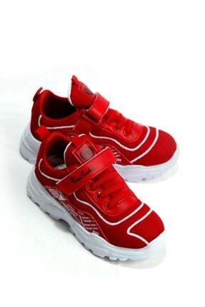 Pierre Cardin Unisex Çocuk Kırmızı Spor Ayakkabı