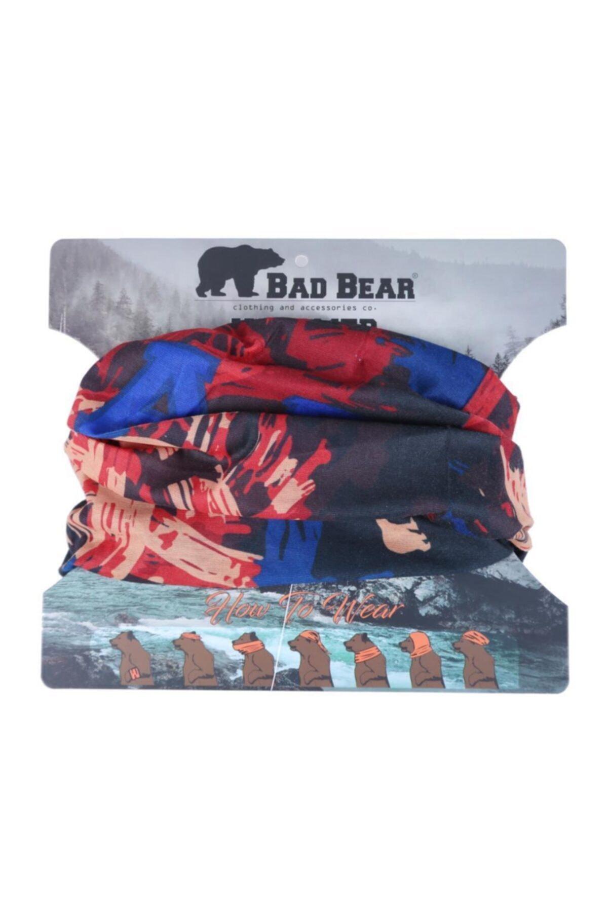 Bad Bear Baskılı Erkek Bandana 20.02.40.024 1