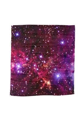 Köstebek Galaxy Kırmızı Bandana