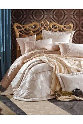 Elart Yatak Örtüsü Bronze Cappucıno
