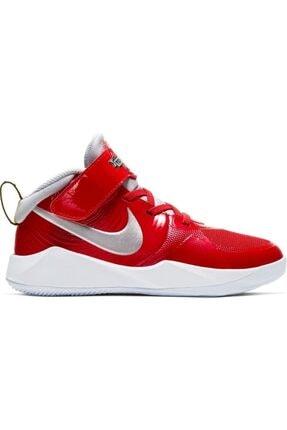 Nike Unisex Çocuk Kırmızı Team Hustle D 9 Auto (Ps) Basketbol Ayakkabısı Cq4278-600