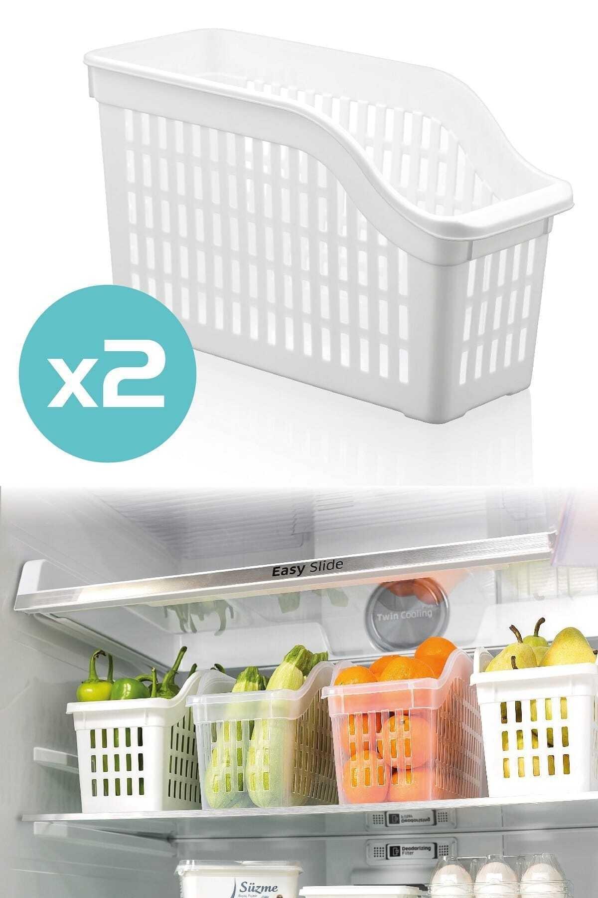 Dünya Plastik 2'li Buzdolabı Düzenleyici Set 2
