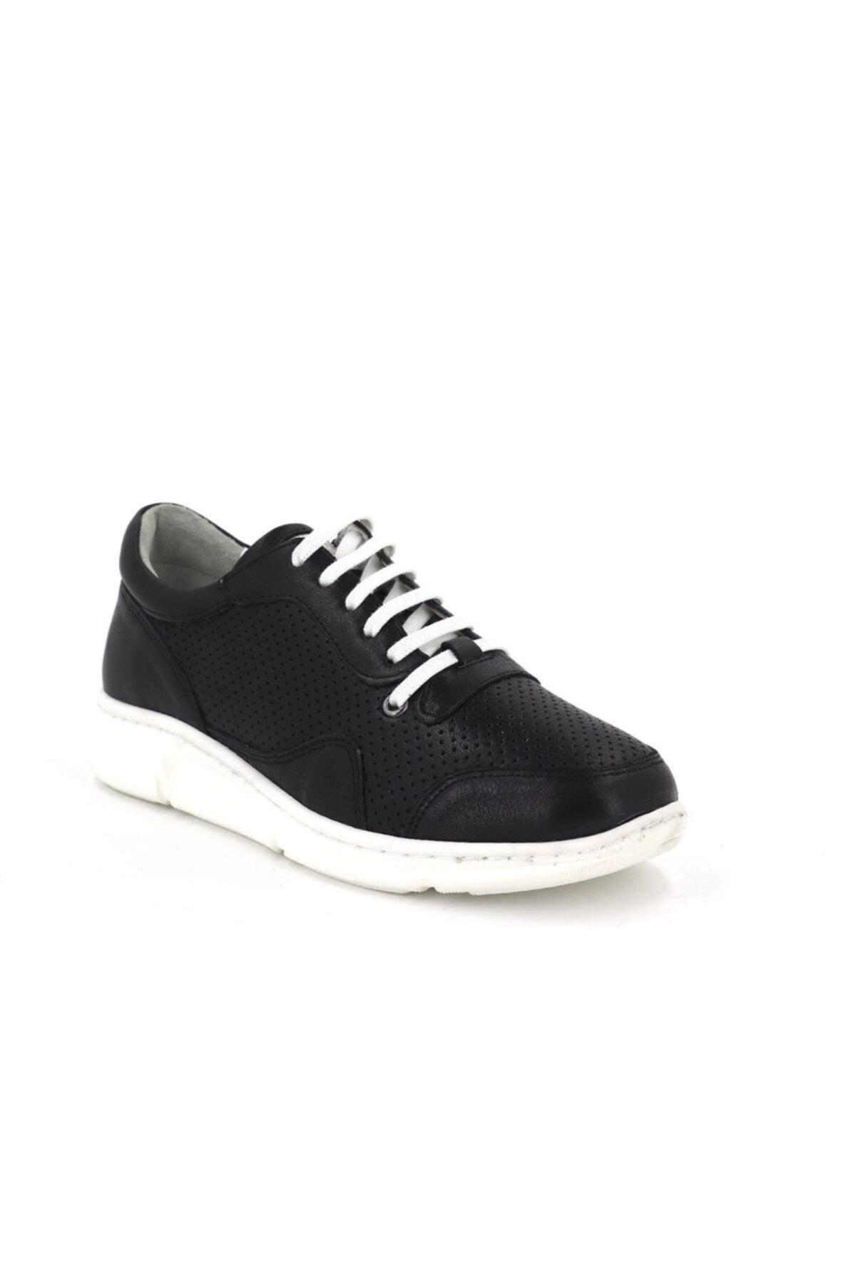 Hobby Divadonna Siyah Ortopedik Kadın Günlük Ayakkabı Dd2226 2