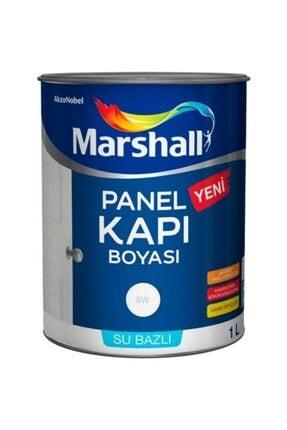 Marshall Su Bazlı Panel Kapı Boyası 1 Lt Gri Kayrak