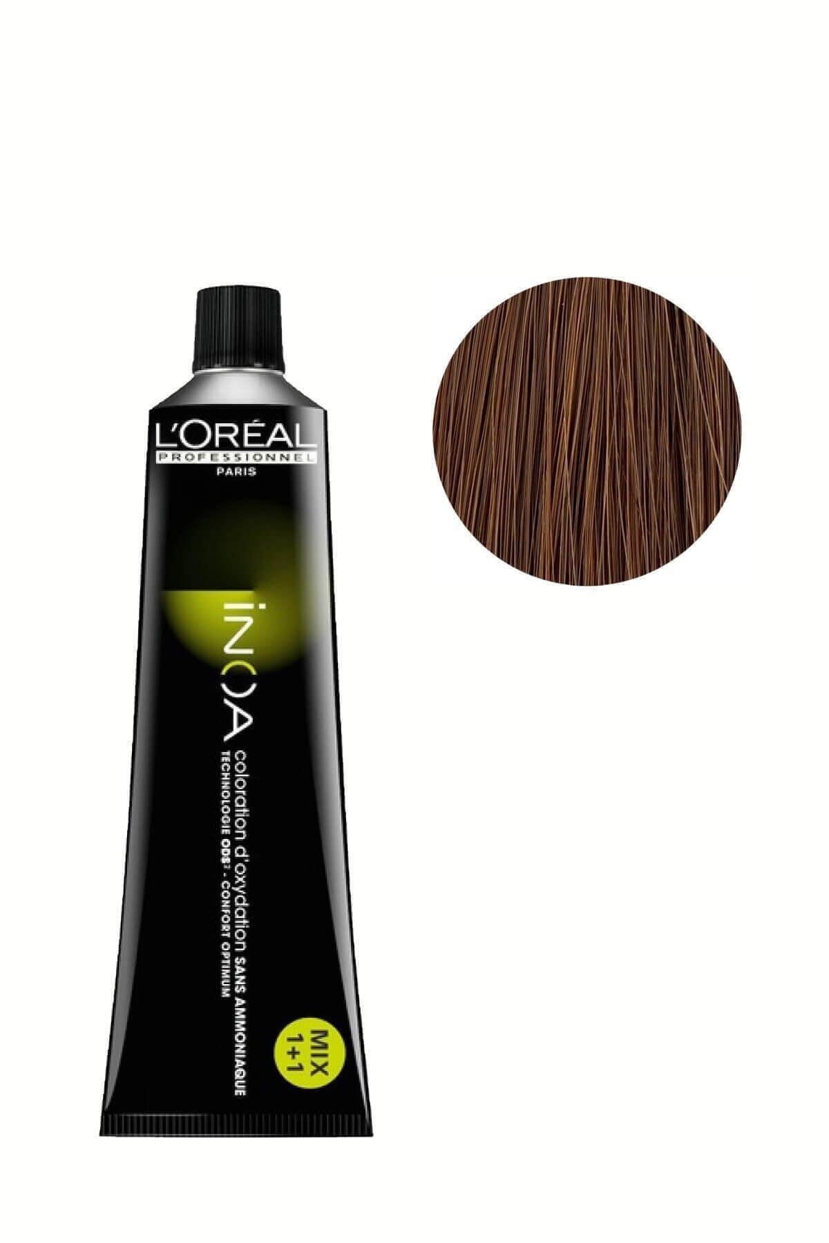 İNOA Saç Boyası 7,1 Kumral Küllü 3474630415645 1