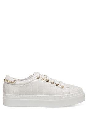 Nine West Andy Beyaz Kadın Sneaker Ayakkabı