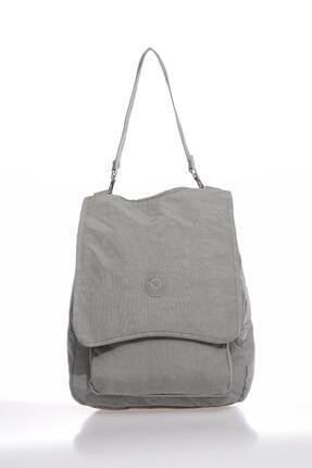 SMART BAGS Smbky1119-0078 Gri Kadın Sırt Çantası