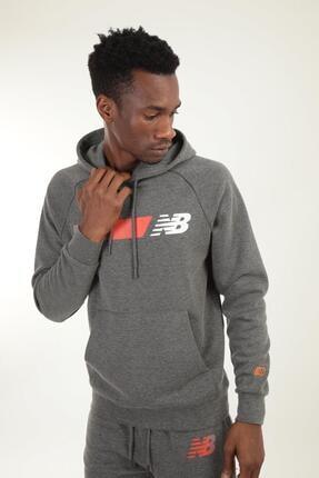 New Balance Erkek Sweatshirt Mph001-chc