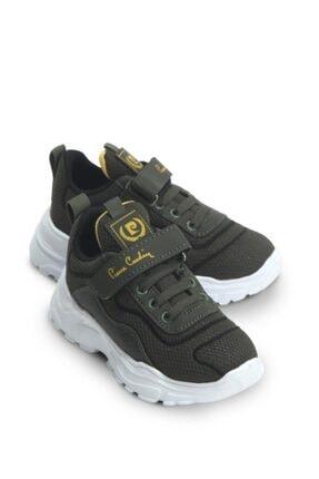 Pierre Cardin Erkek Çocuk Haki Spor Ayakkabı