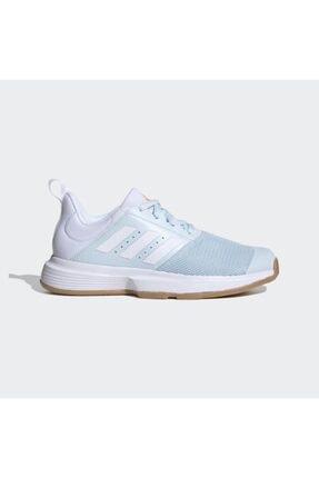 adidas Fu8398 Essence Kadın Beyaz Salon Ayakkabısı