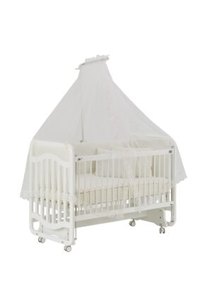 G&G baby Gg Baby Bianco Sweet Dreams Anne Yanı Beşik Krem Uyku Setiyle