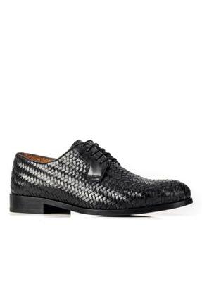 Cabani 61322 Kösele Enj. Meşin Astar Ayakkabı-siyah Antik