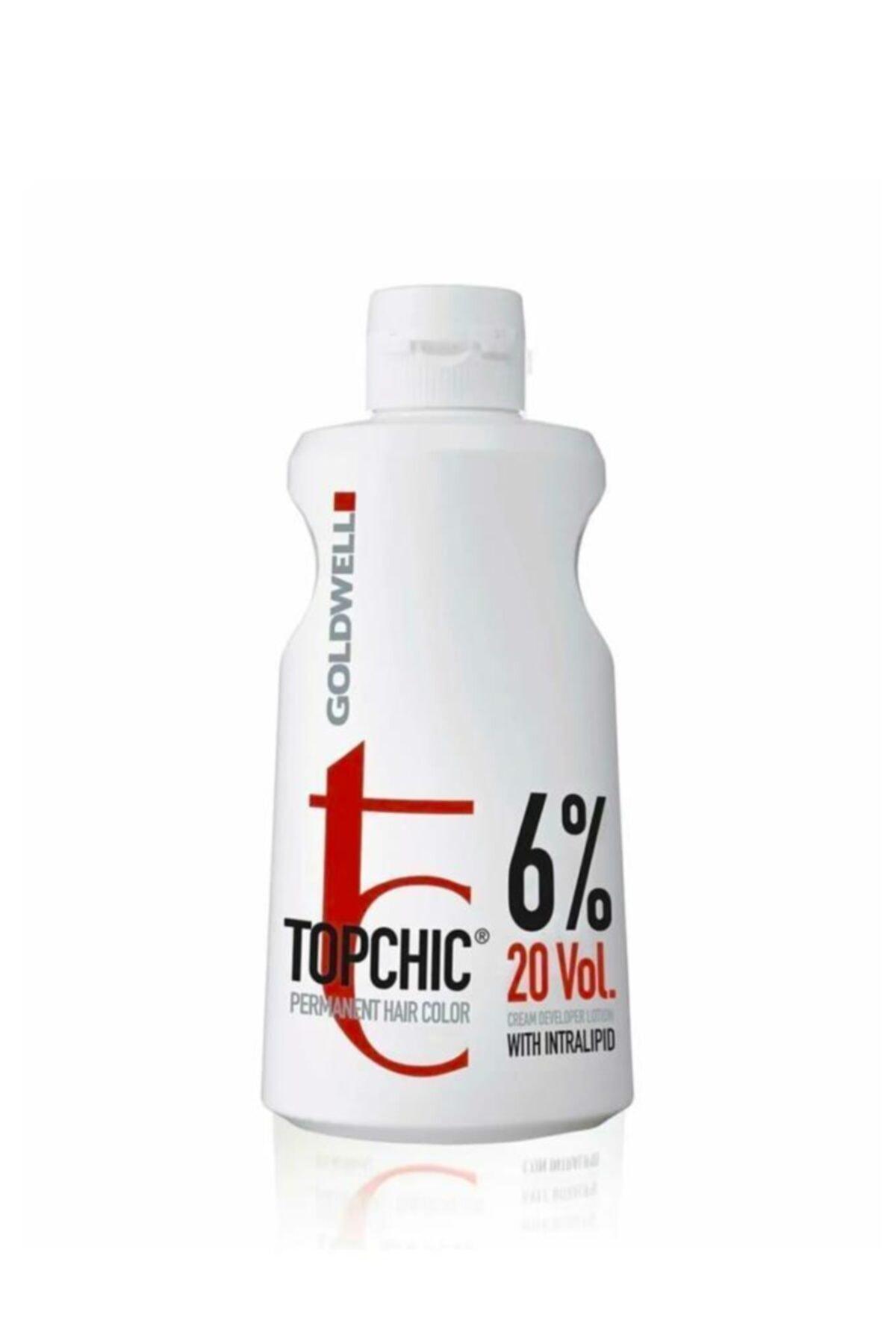 GOLDWELL Topchic Oksidan Krem %6 20 Vol 1000 ml 1