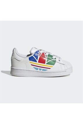 adidas Superstar Pure El I Erkek Çocuk Spor Ayakkabı