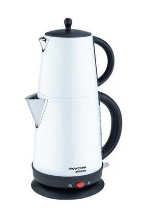 AWOX Demplus Beyaz Paslanmaz Çay Makinası