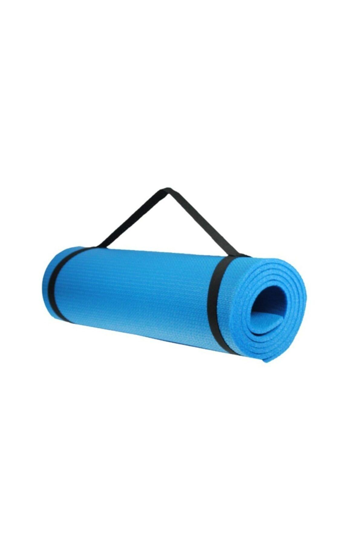 Walke 7 Mm Kalınlık Pilates Matı Yoga Matı Kamp Matı Mavi Boy 150 Cm En 51 Cm 2