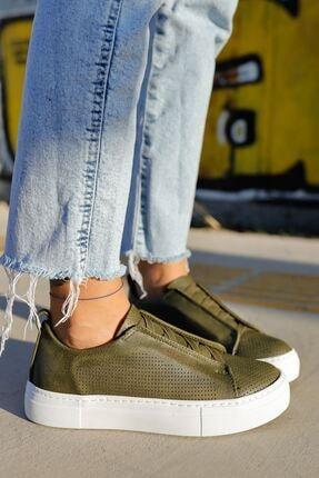 Chekich Ch011 Bt Kadın Ayakkabı Haki