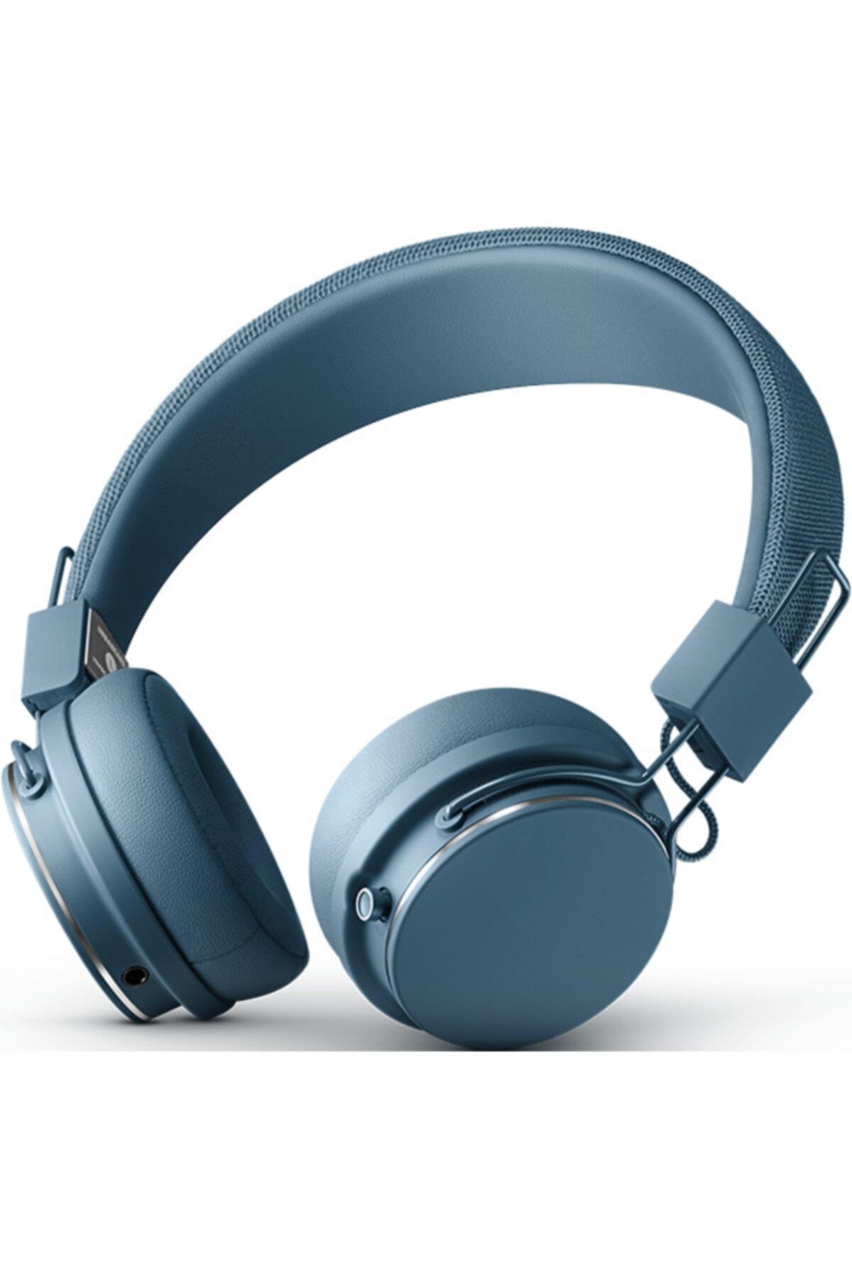 URBANEARS Plattan II Bt Kulak Üstü Bluetooth Kulaklık - Indigo 1