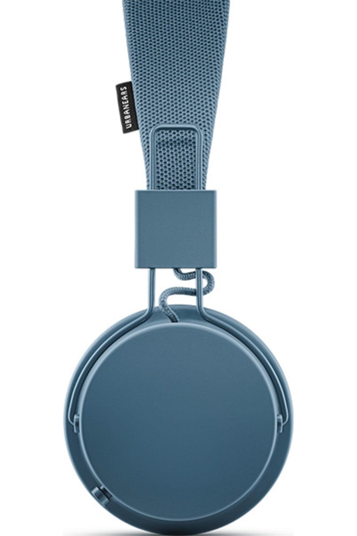 URBANEARS Plattan II Bt Kulak Üstü Bluetooth Kulaklık - Indigo 2